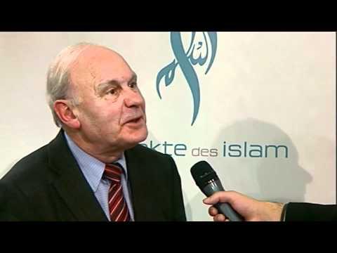 Gäste berichten über die islamische Sendung