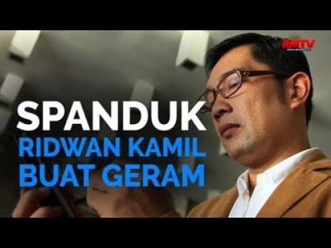 Spanduk Ridwan Kamil Buat Geram