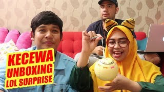 Video KECEWA UNBOXING LOL SURPRISE !!! GARA GARA INI ??? MP3, 3GP, MP4, WEBM, AVI, FLV Maret 2019