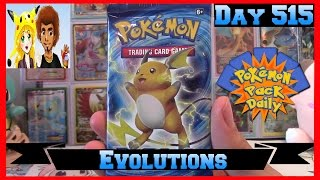 Pokemon Pack Daily XY: Evolutions Booster Opening Day 515 - Featuring James&Chloe Collects by ThePokeCapital