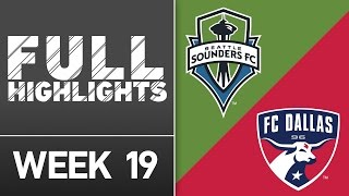 HIGHLIGHTS: Seattle Sounders FC vs. FC Dallas | July 13, 2016 by Major League Soccer