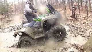 3. Arctic Cat Mud Pro 700 Deep mud