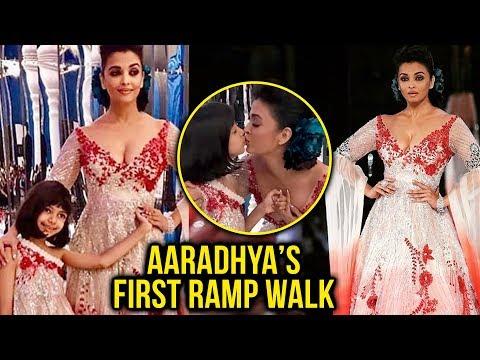 Aishwarya Rai Aaradhya Bachchan WALKS RAMP | Aishw