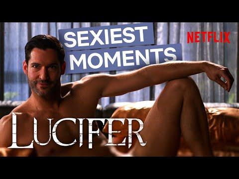 Lucifer's Sexiest Moments | Netflix