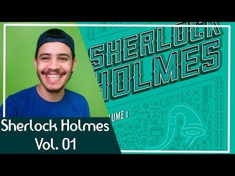 Sherlock Holmes Vol 1 - Sir Arthur Conan Doyle | Patrick Rocha (4X95)