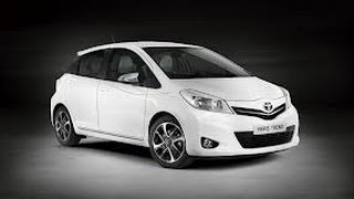 2013 Toyota Yaris HatchBack Test Drive/Review - Average Guy Car Reviews