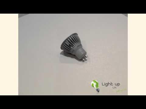 DIMMABLE Megaman 6W LED GU10 Lamp PAR16 Bulb 50W Equivalent