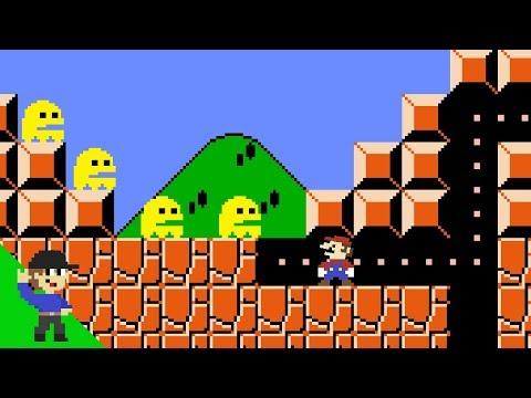 Ghost-Man would be OP in Super Mario Bros.
