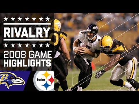 Video: The Rivalry Begins   Ravens vs. Steelers MNF (2008)   NFL