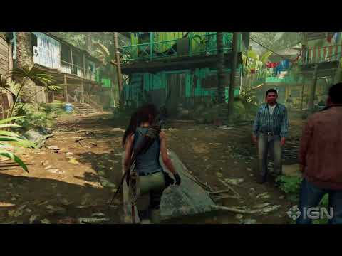 Shadow of the Tomb Raider : le premier hub du jeu - GAMEPLAY 4K