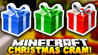 Minecraft - CHRISTMAS CRAM! (Minigame) - w/ Preston, Vikkstar123, Lachlan&Tyler!