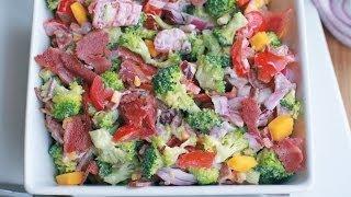 Really Good Broccoli Salad Recipe