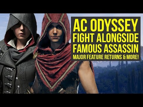 Assassin's Creed Odyssey MAJOR FEATURE Returns, Fight Alongside Familiar Assassin & More! AC Ody