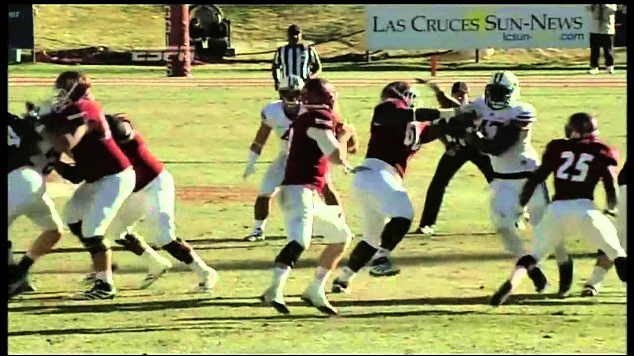 Ezekiel Ansah vs New Mexico State (2012)