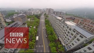 Wuxi China  City pictures : China: Drone tour of Wuxi New Town - BBC News