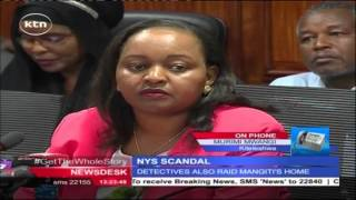 EACC detectives raid homes of former devolution CS Anne Waiguru, PS Mangiti and NYS boss Githinji