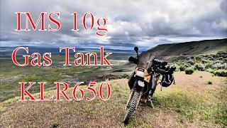 8. IMS 10gal Gas Tank- KLR650 ADV