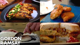 Video Gordon Ramsay's Top 5 Fish Recipes MP3, 3GP, MP4, WEBM, AVI, FLV April 2019