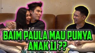 Download Video BAIM PAULA MAU PUNYA ANAK 11?? BIKIN TIM SEPAK BOLA? MP3 3GP MP4
