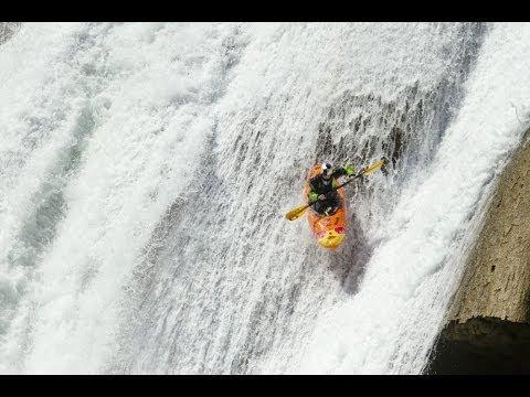 Kayaking through the most dangerous waterfalls on Earth