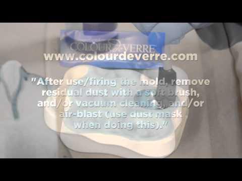 Using ZYP Coatings Boron Nitride Aerosol Lubricoat Spray Can To Coat Molds and Ceramic Parts