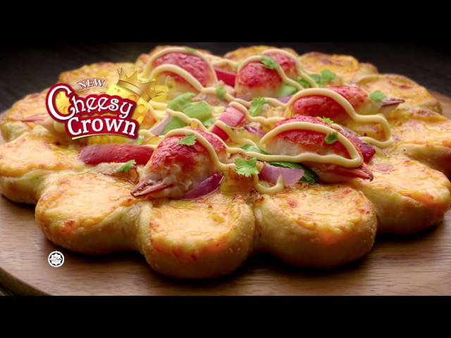 Pizza Hut Cheesy Crown