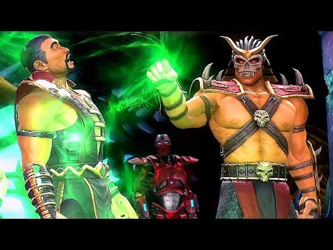 Mortal Kombat Shao Kahn Kills Shang Tsung For Sindel