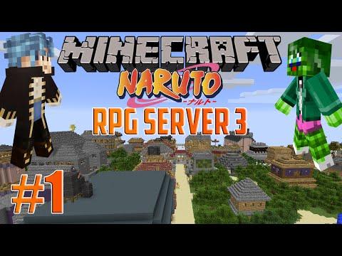 Minecraft Server: Naruto RPG Adventure! – Episode 24: Fighting and Flashbacks!