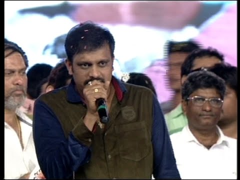 Director Sriwass Speech @ Loukyam Movie Audio Launch 18 September 2014 08 PM