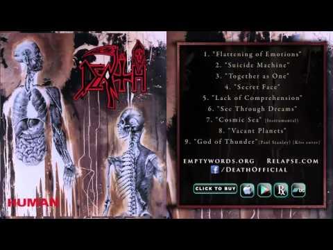 DEATH - 'HUMAN' Reissue (Full Album Stream) (видео)