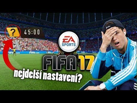 NEJDELŠÍ NASTAVENÍ VE FIFĚ?! (FIFA 17 EXPERIMENT)