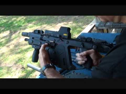 kriss - Fun Gun Reviews Presents: The KRISS Vector Super V 45acp Submachinegun.