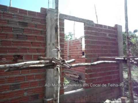 Construção da Igreja Assembleia de Deus em Cocal de Telha-PI