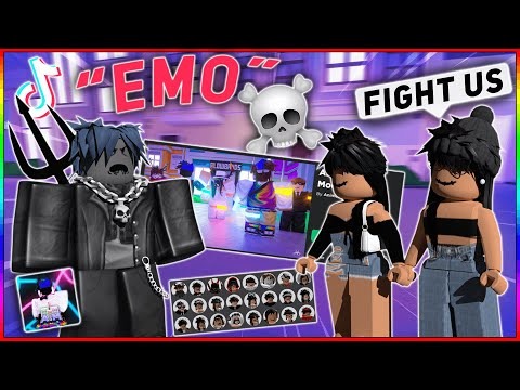 Becoming an EMO Oder in ROBLOX (Roblox Trolling)