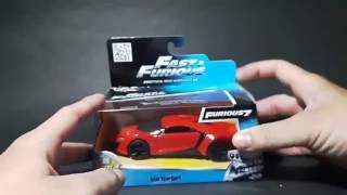 Nonton Unboxing: Jada Fast & Furious 7 Lykan HyperSport 1:32 Scale Film Subtitle Indonesia Streaming Movie Download