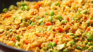 Leftover Quinoa Fried Rice by Tasty