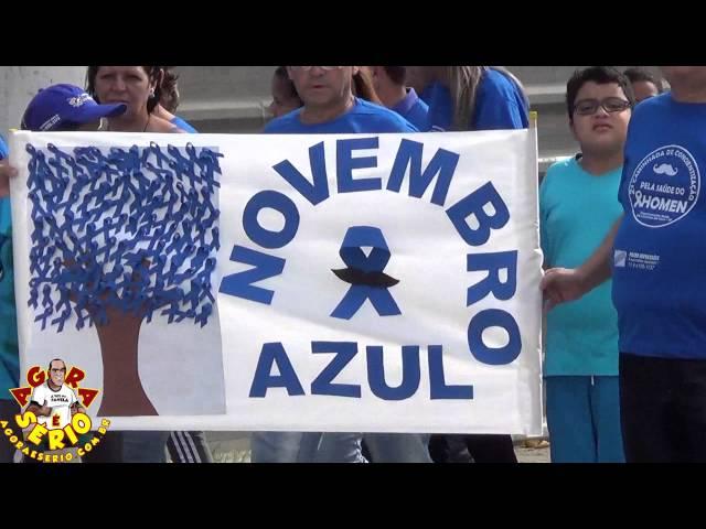 Caminhada Novembro Azul 2015 de São Lourenço da Serra