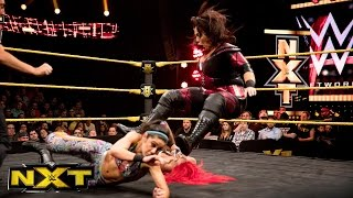 Bayley & Asuka vs. Eva Marie & Nia Jax :  WWE NXT, March 16, 2016