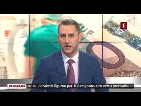"""LTV1 """"Panorāma"""" par ārstniecības personāla atalgojuma palielinājumu 2018.gadā"""