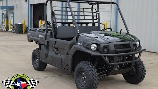 4. $13,199:  2016 Kawasaki Mule Pro DX Diesel Super Black Overview and Review