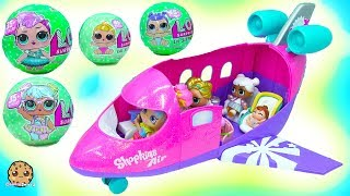 Video LOL Surprise Big Lil Sisters Blind Bag  Airplane Vacation with Rainbow Kate MP3, 3GP, MP4, WEBM, AVI, FLV Agustus 2018
