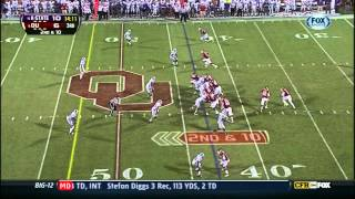 Arthur Brown vs Oklahoma (2012)