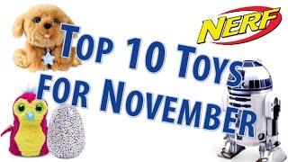 TTPM Top 10 Toys in November 2016