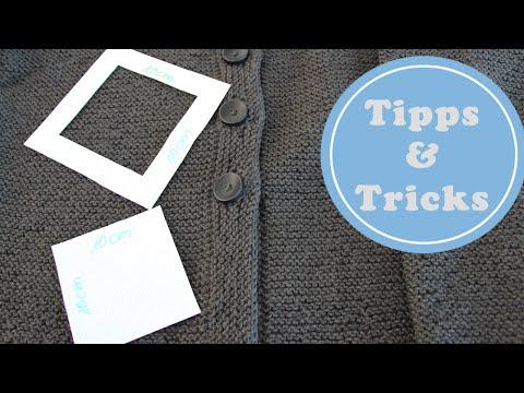 Strickmuster auf eine andere Größe anpassen | Tipps & Tricks | Stricken