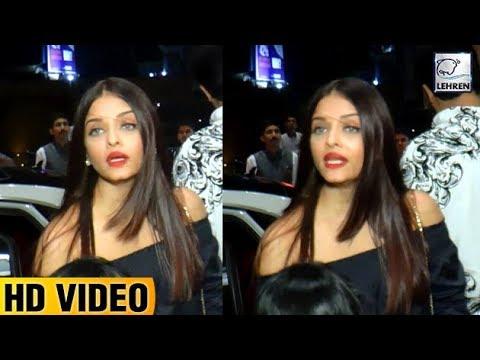 Aishwarya Rai Gets Irritated By Media During Aradh