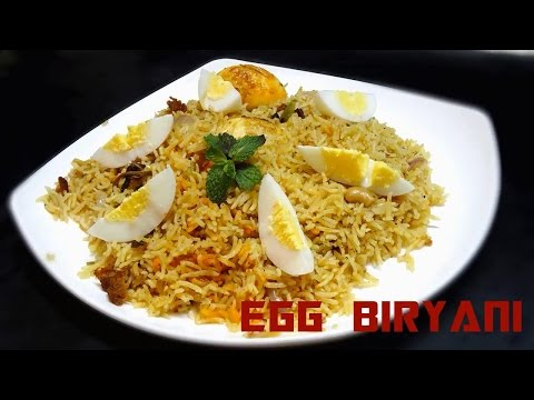 How to Prepare Egg Biryani at Home
