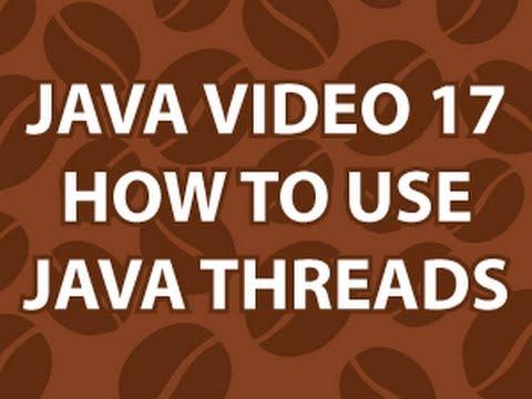 Java Video Tutorial 17
