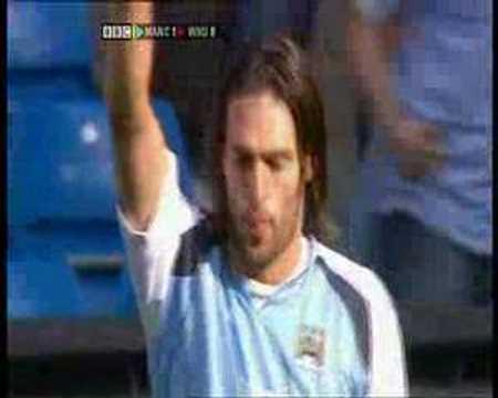 Jugando por el Manchester City