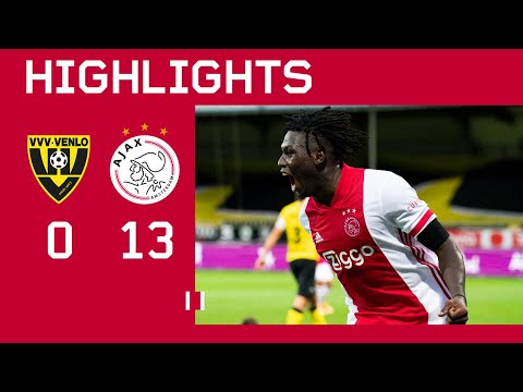 Highlights | VVV-Venlo - Ajax | Eredivisie