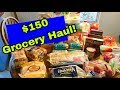 $150 GROCERY HAUL! || Our Joint Family Budget and Where We Shop!